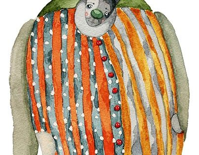 "Check out new work on my @Behance portfolio: ""Clown"" http://be.net/gallery/52940125/Clown"