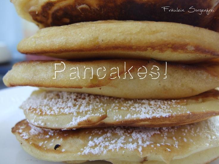 Pancakes!   www.fraeulein-sorgenfrei.de