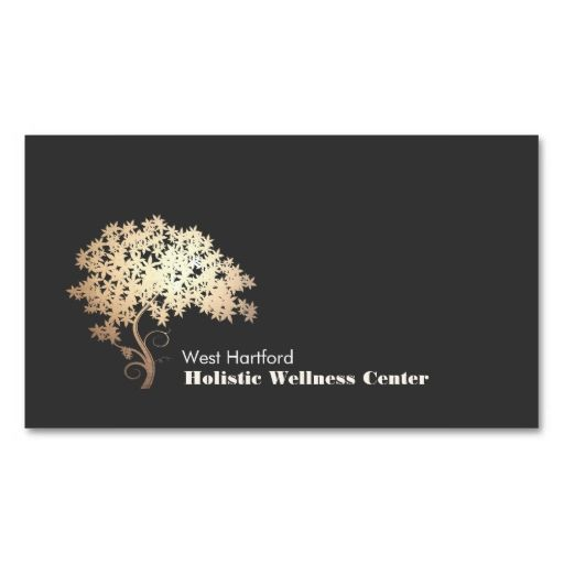 Golden Zen Tree Holistic and Alternative Health Business Cards. This great business card design is available for customization. All text style, colors, sizes can be modified to fit your needs. Just click the image to learn more!