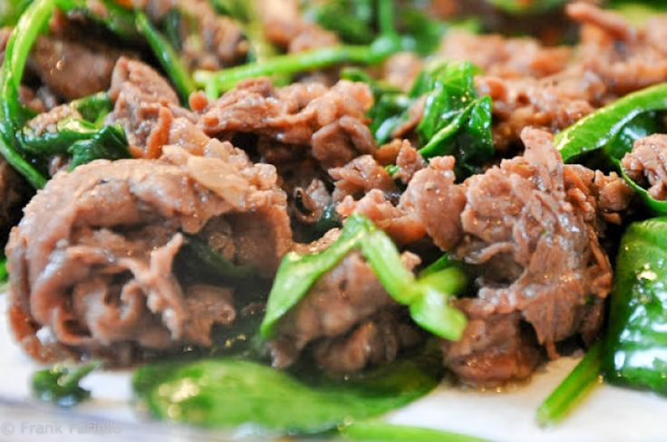 One of the most iconic dishes of Roman cookery, straccetti con la rughetta, or 'little rags' of beef with arugula, is also one of the simplest of all to prepare. The technique is quite close to an Asian stir-fry and, ...
