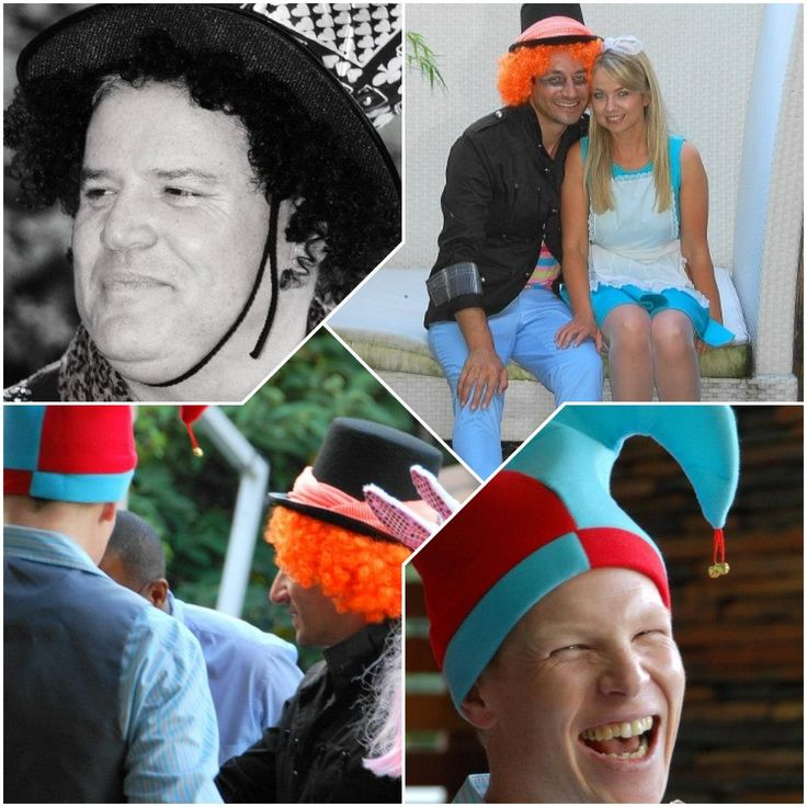 "Guests were asked to dress to the Wonderland theme otherwise ""Off with their HEADS!!"""