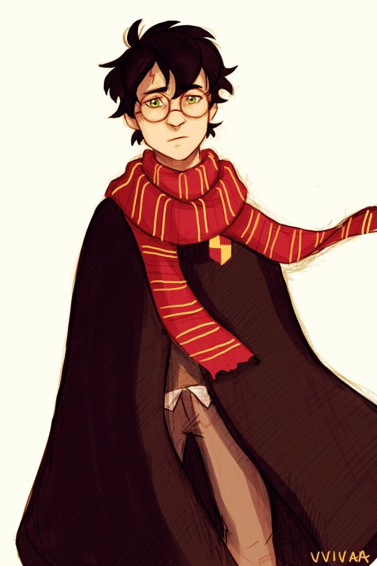Harry Potter Erwachsenen Fanart