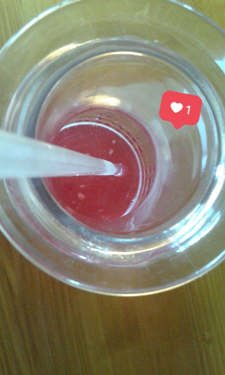 aaand the cherry lemonade is almost gone. via Instagram stories of @quaintrelle.georgiana  https://www.instagram.com/quaintrelle.georgiana/ | Georgiana Quaint