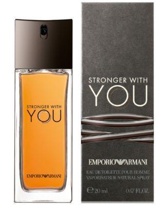 Emporio Armani Stronger With You Eau de Toilette Travel Spray, 0.67 oz.