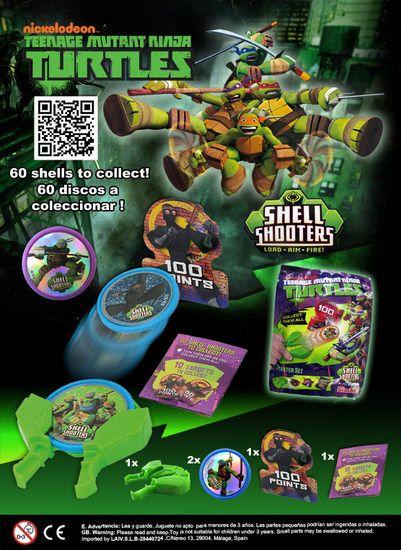 Productos Vending - Juguete Bola Colecciòn Tortugas Ninja