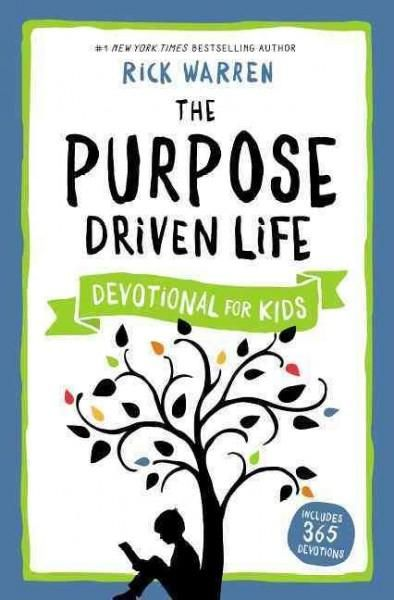 The Purpose Driven Life Devotional for Kids includes 365 devotions that tie to the themes and ideas found in the bestselling The Purpose Driven Life . Written at a third to fourth grade level, each de