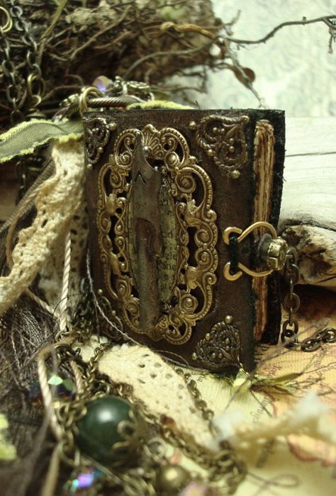 ~ wearable books ~ Boho Opulence by Luthien Thye