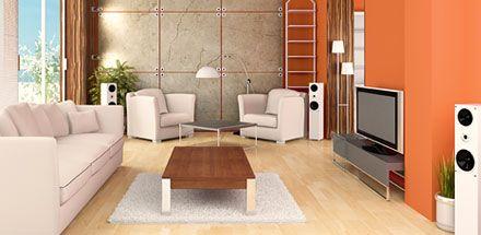 Wireless surround sound speakers; image courtesy of summitwireless.com