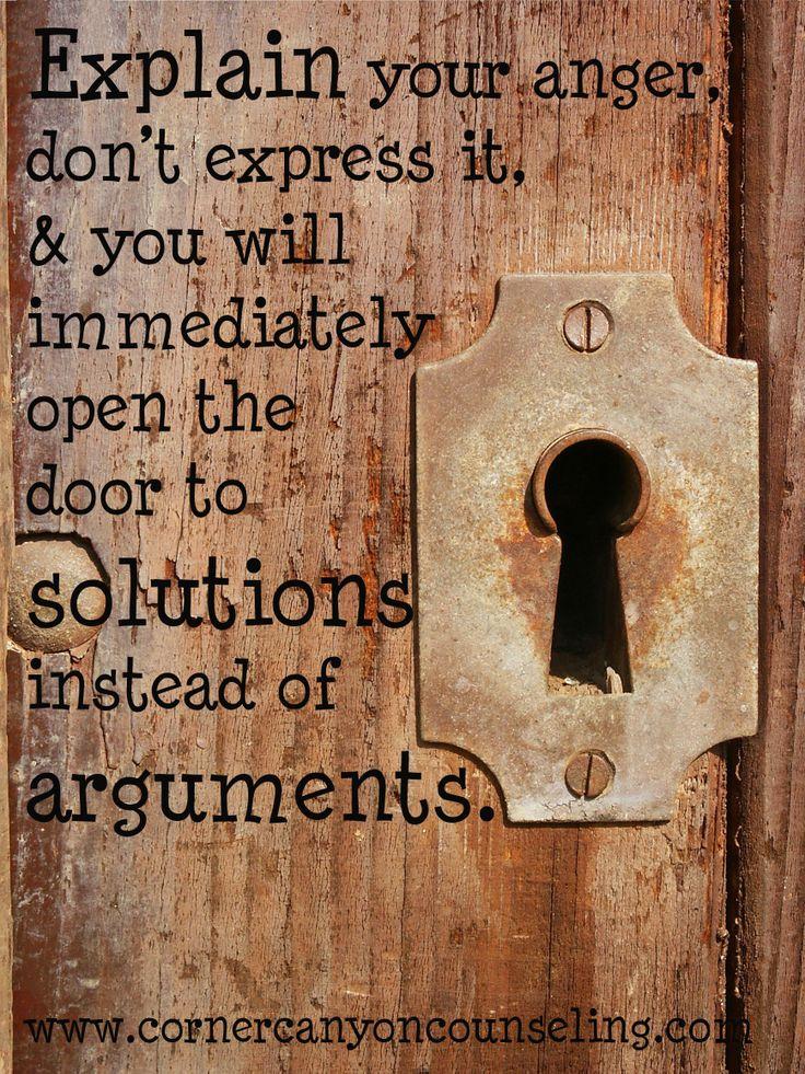 Explain your #anger