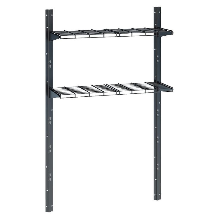 Suncast Shed Shelf System, Black