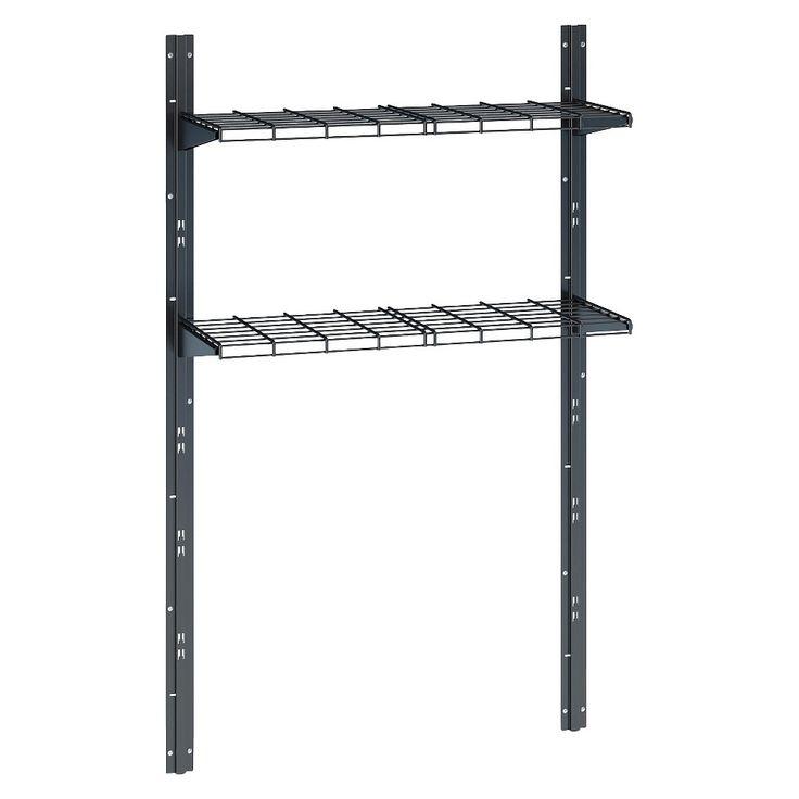 Suncast Shed Shelf System, Black