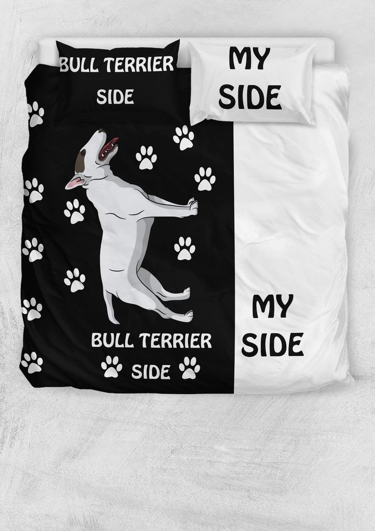 Bull Terrier Fun Bedding
