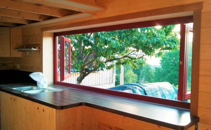 les 25 meilleures id es de la cat gorie fenetre panoramique sur pinterest lumi re naturelle. Black Bedroom Furniture Sets. Home Design Ideas