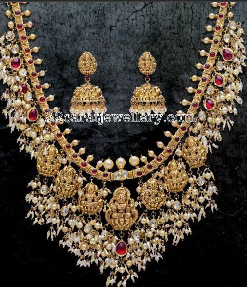 Top 25 Indian Antique Jewellery Designs For Women: 1000+ Images About Antique Necklace Jewellery On Pinterest