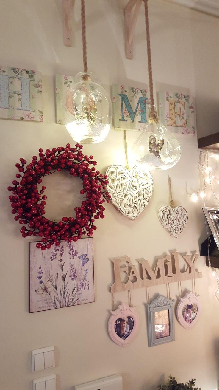 Welcome Christmas decor for inside door