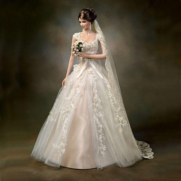 A Love So Precious Bride Doll By Artist Cindy McClure