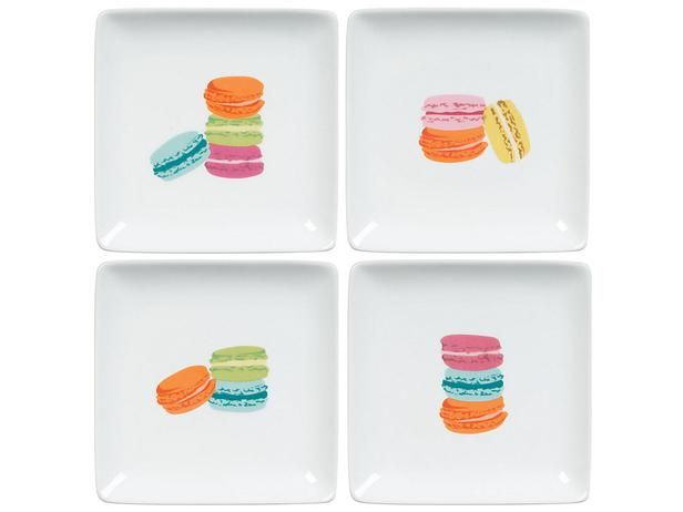 Macaron Plates: Paper Sources Coupon, Macaroons Plates, Gifts Ideas, French Macaron, Holidays Gifts, Macaron Plates, Gifts Guide, Photo Gifts, Hostess Gifts