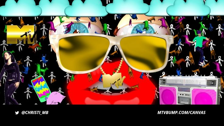 I made this Bump with Canvas. Now it's your turn. Make your own #MTVBump. Get them on air. Take control of MTV.