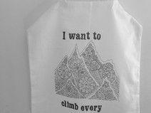 torba płócienna motyw *góry*