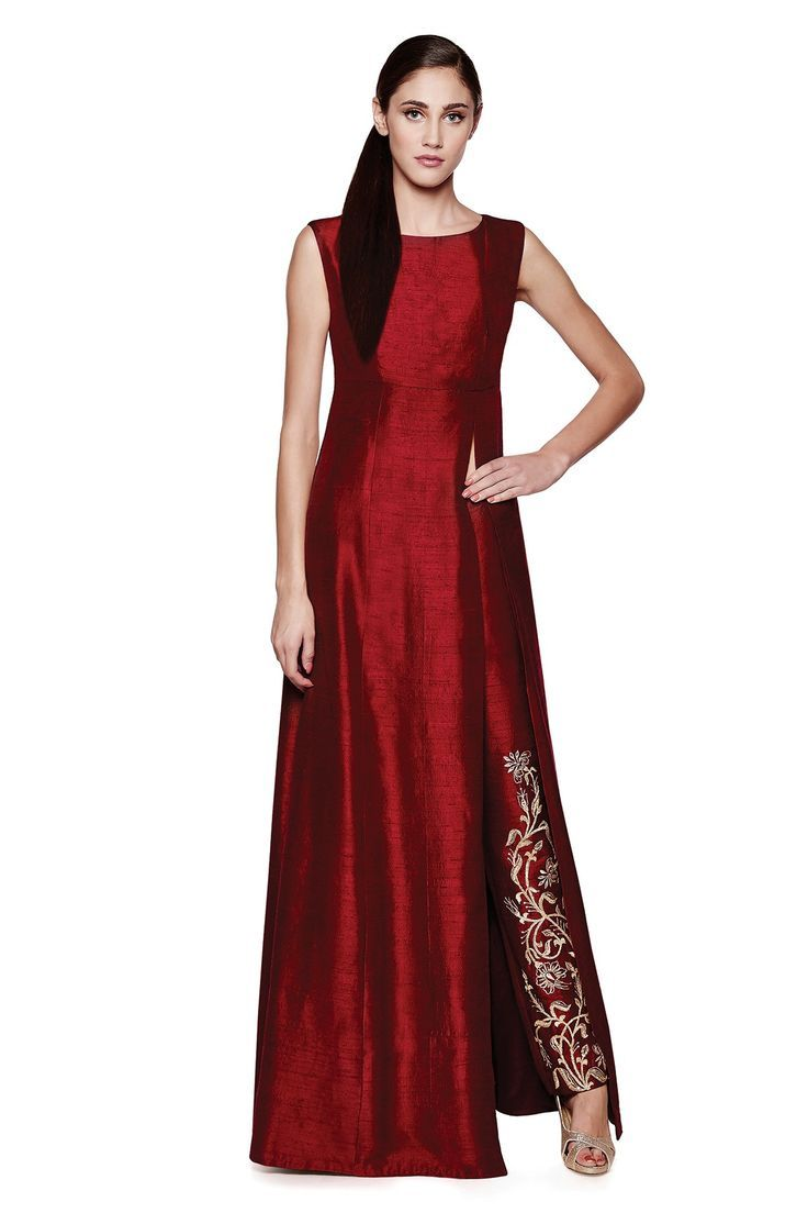 kurta-with-side-slit-anita-dongre-what-to-wear-to-an-indian-wedding.jpg (736×1104)