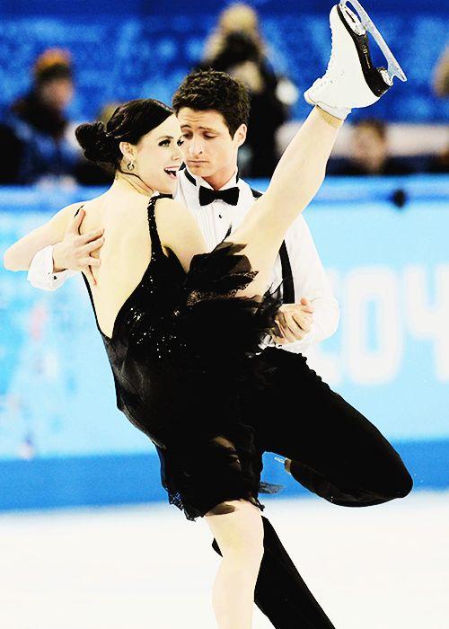 Sochi: Tessa Virtue And Scott Moir