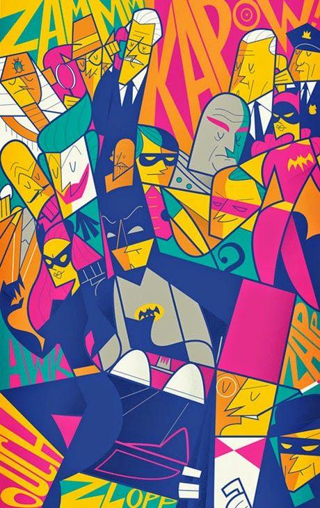 Ilustraciones geométricas de Ale Giorgini | No me toques las Helvéticas | Blog sobre diseño gráfico y publicidad