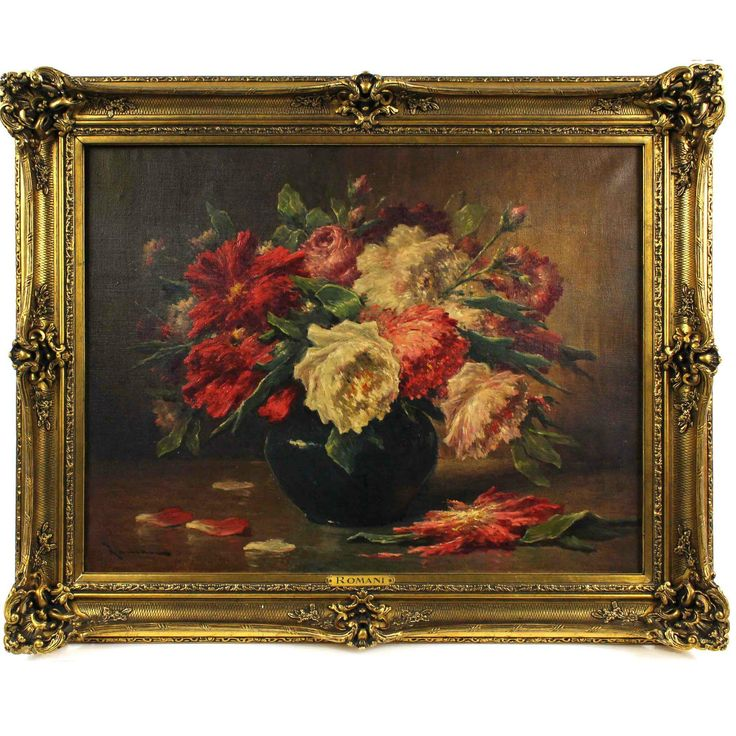 A Bouquet of Flowers, 19th Century, oil on canvas