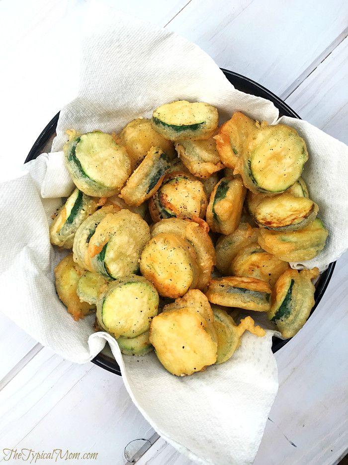Easy breaded zucchini recipes
