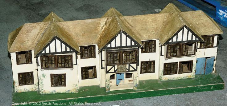 Triang Toys Dolls House No.64, 1930's