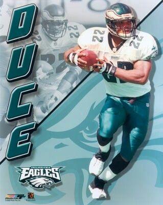 Philadelphia Eagles RB Duce Staley