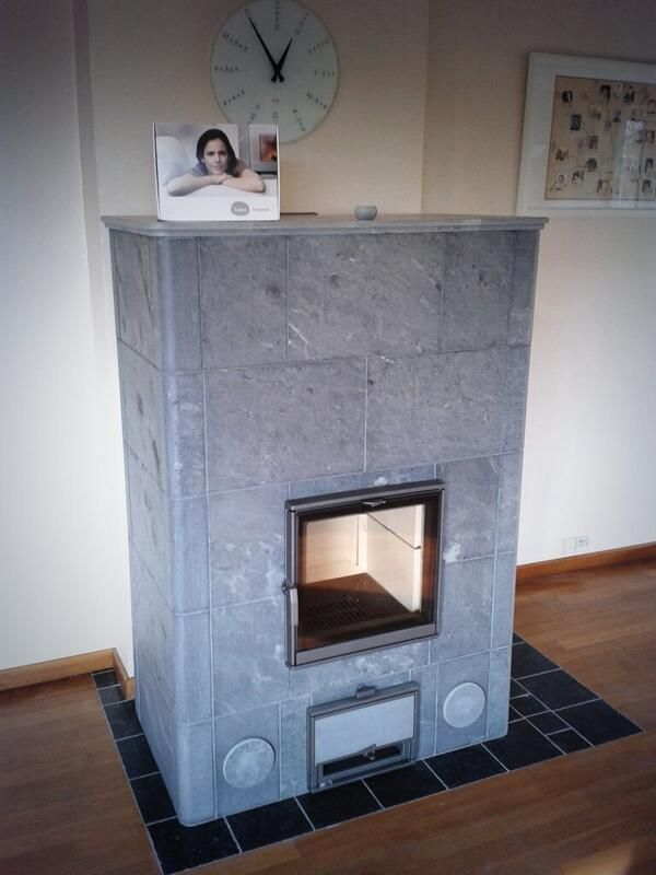 #tulikivi #fireplace #oven #soapstone #naturalstone #heatretaining
