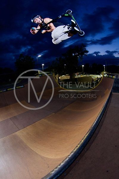 Pro Team Rider Corey Funk Poster | The Vault Pro Scooters ...