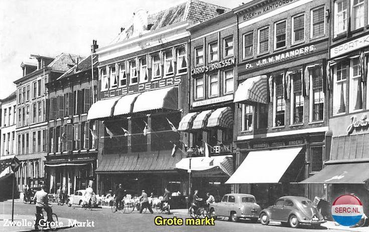 Grote Markt Zwolle (jaartal: 1950 tot 1960) - Foto's SERC