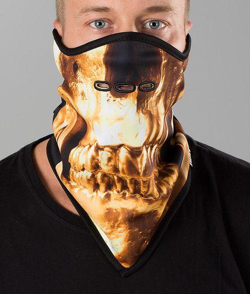 Neff - Dome Mask Facemask Skull - Ridestore.com