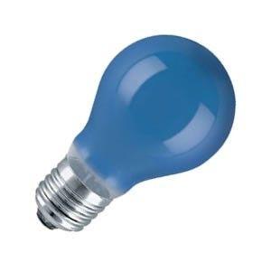 Standaard-lamp 15 watt E27 blauw