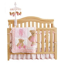 Solutions by Kids R Us 4-in-1 Non Drop Side Convertible Crib - Natural