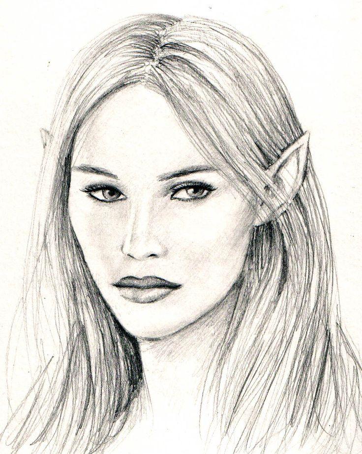 another elf girl by dashinvaine.deviantart.com on @DeviantArt