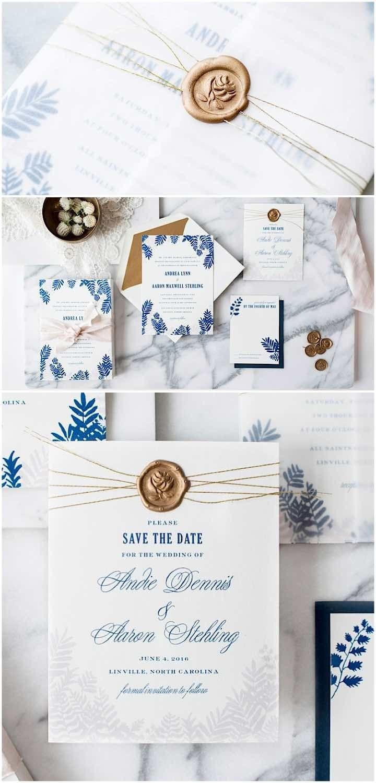 Wedding invitation idea; Featured: HelloTenfold