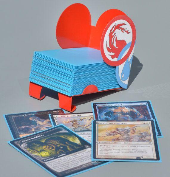 Magic the Gathering Library Card Holder by EmeraldDesignUSA
