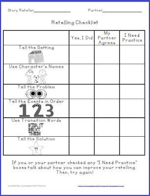 A Sweet Mentor Text and a Retelling Freebie