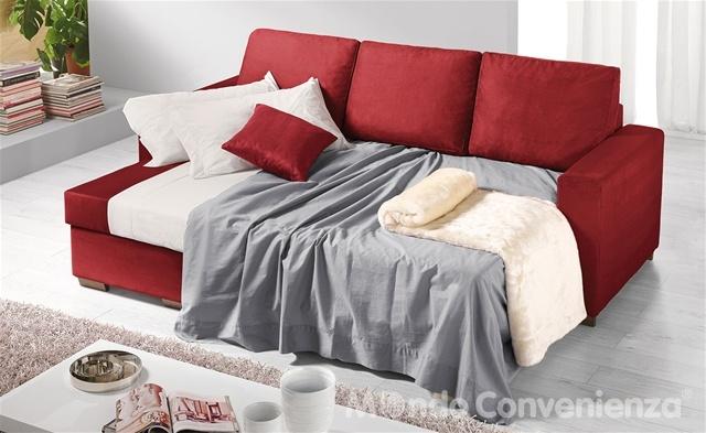 Scegli Orlando, il divano letto giovane che per te si fa in tre, € 395.