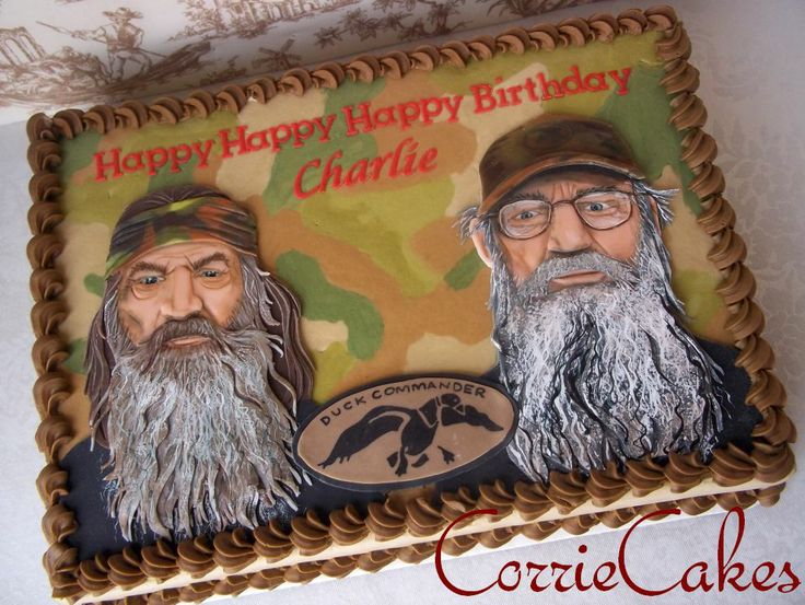 Duck Dynasty Cake - Awesome