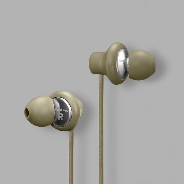 Urbanears Kransen Headphones in Moss