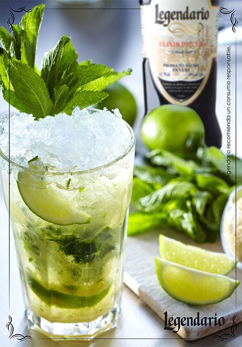 Cocktail Legendario.Mojito Legendario