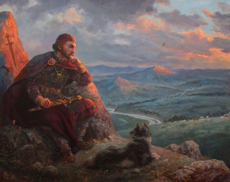 Бус Белояр – картина художника Андрея Шишкина