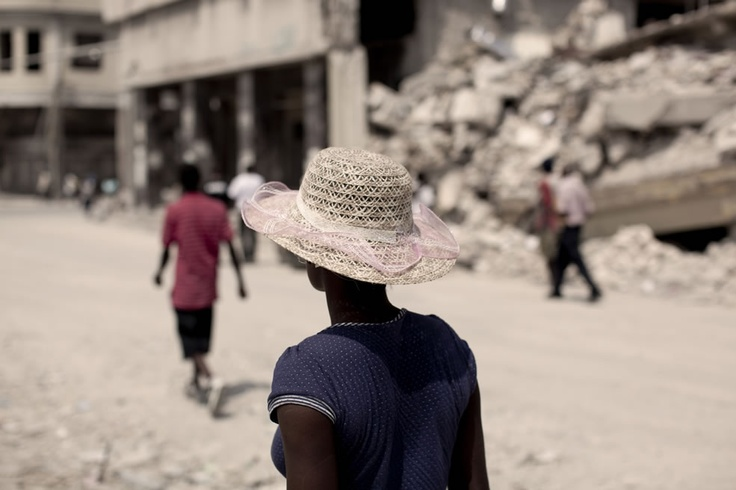 Christian Cravo. Haiti, after 2010 earthquake