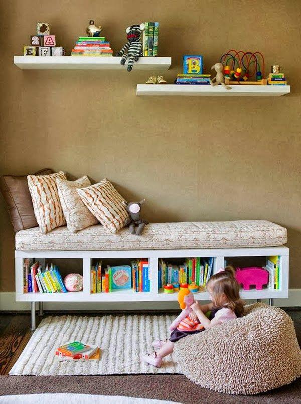 Rincón de lectura para niños. Decorar en familia | DEF Deco