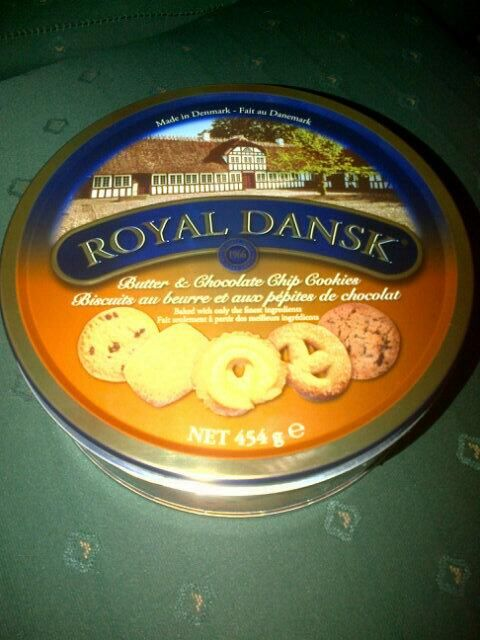 Mmmm Delish @Royal_Dansk_SA in the #DBNbloggermeet goodie bag