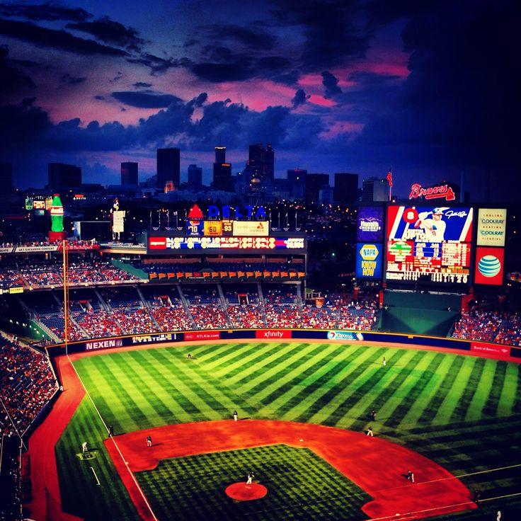 Baseball is beautiful. ATL