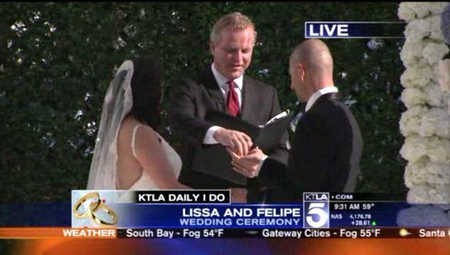 Wedding Officiant KTLA Officiant Guy was recommended to KTLA...